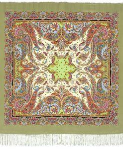 Платки шелковые крепдешин (130×130)